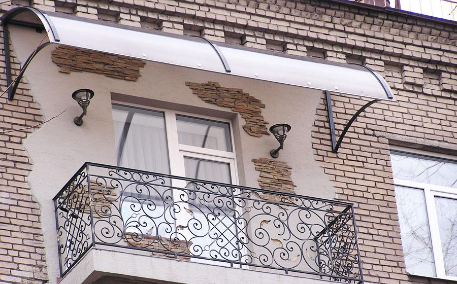 Балкон из поликарбоната своими руками фото